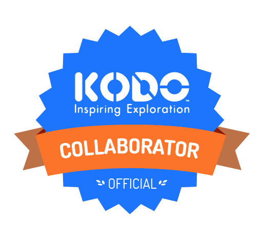 Kodo Collaborators Badge Sky Blue